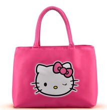 fashion Hello Kitty Handbags for Women Oxford Shoulder Bags Mummy tote Shopper Hand Bag Bolsa Feminina