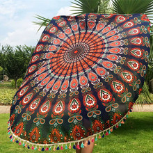 5 Colors High quality mandala beach towel dining table cloth Bikini Boho Summer swimming towel table cloth indian bed cover
