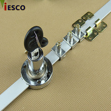 Drawer lock three chain interlocking front lock side lock three chain head furniture lock set