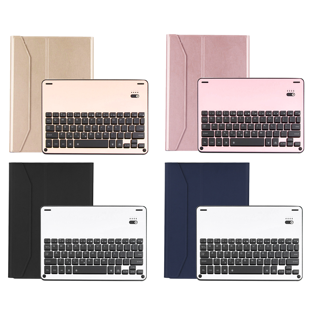 9.9.7 Newest Waterproof Dustproof 2in1 Bluetooth 3.0 Wireless Keyboard Foldable Leather Case Stand Cover Holder for iPad Air Pr<br>