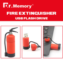 swivel fire extinguisher usb flash drive 4g 8g 16g metal usb flash drive gift pendriveping 100% real capacity(China)