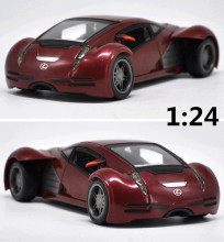 High simulation Lexus future concept,1:24 scale alloy High quality model,Collection car model,free shipping