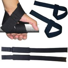 Weight Lifting Hand Wrist Bar Support Strap Brace Support Gym Straps Weight Lifting wrap Body Building Grip Glove 1 Pair