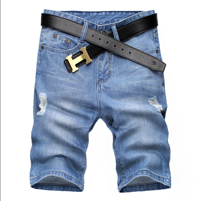 Short Jeans mens fashion Shorts men big sale Summer clothes new fashion Mens short pants Big Size 28-38Одежда и ак�е��уары<br><br><br>Aliexpress