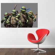 J#9 Custom Teenage Mutant Ninja Turtles Comic Canvas Painting Wall Silk Poster cloth print  Print your image Fabric Poster F9