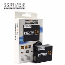 SSRIVER 4K HDMI 2.0 Repeater 2160 HDMI Extender 1080P 3D HDMI Adapter Signal Amplifier Booster 4.95Gbps Over Signal HDTV(China)