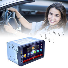 New Car DVD Professional 7 Inch HD 1024*600 Capacitive Screen 7 Colorful Lights Function With America Map RK-7721A Hot