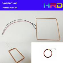 China factory wholesale price low frequency 125KHZ copper coil hotel lock switch RFID card copper wire coil