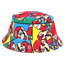 2016 summer kids hats girls boys caps 27 Design Outdoor Hiking Hat Infant Toddler Bucket Hat Keep sun out cotton Fishernan Cap(China)