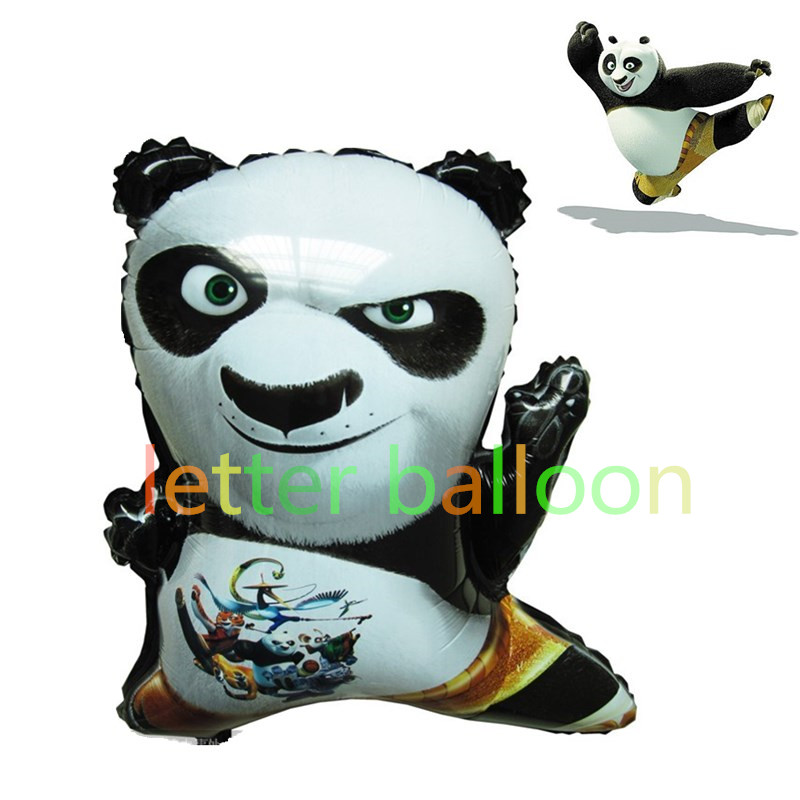 панда из шаров фото