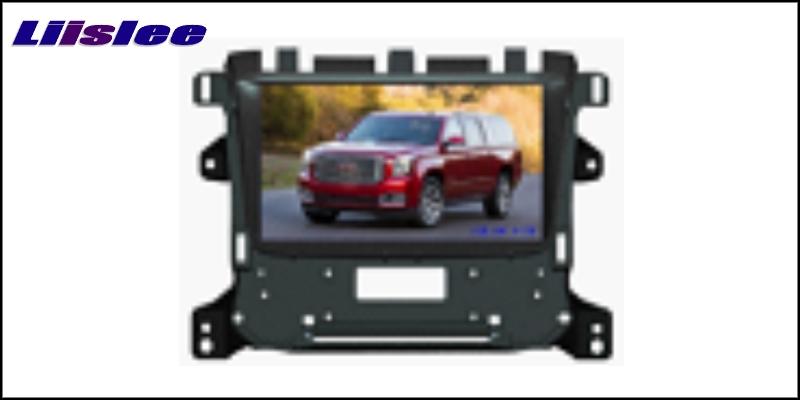 For GMC Sierra Denali Canyon 2014~2017 LiisLee Car Multimedia TV DVD GPS Audio Hi-Fi Radio Original Style Navigation 2