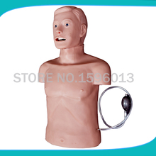 Advanced Half Body CPR and Intubation Training Manikin,Adult CPR and Airway Manikin