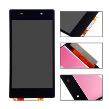 Black For Sony Xperia Z2 D6502 D6503 D6543 L50W LCD display touch screen with digitizer full assembly replacement parts