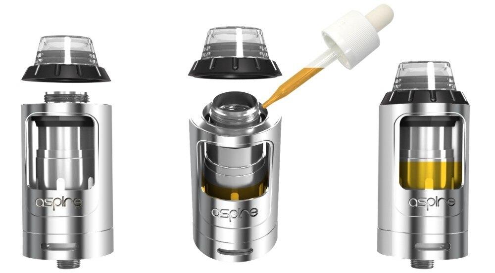 E-Cigarettes Aspire Athos Tank Atomizer with A3 A5 Coil Fit Electronic Cigarette Speeder 0W Box Mod Vape Tank e cigarette 9