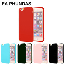 EA PHUNDAS case for Apple iphone 6 6s case Anime Candy colorful matte TPU soft back cover for Apple iphone 6 6s plus 7 7plus