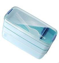 Bento Box Gift For Kids Sushi Box 900ml 3 Layers Portable Bento Box Microwave Food Storage Container Lunchbox .