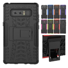 Cool bracket Rugged Kickstand Armor Case for Samsung Galaxy Note 8 Hard Shock Proof Cover for Samsung Note 8 Note8 N5100 N5110