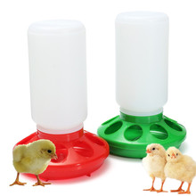 Chicken Feeder 1L Plastic Chick Feeding Red / Green Rite Farm Products New Arrival Durable Quart Hen Poultry Pet Suppies(China)