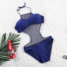 2017 hot explosion swimwear swimwear exported to Europe and the United States Bikini Bathing women lace gap