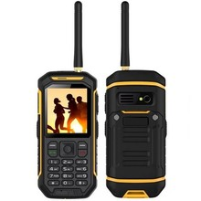 JEASUNG X6 UHF Walkie Talkie IP68 Rugged Mobile Phone Proof Water Function 2500mah 2.4 Inch Dual SIM GSM card with torch IP67(China)