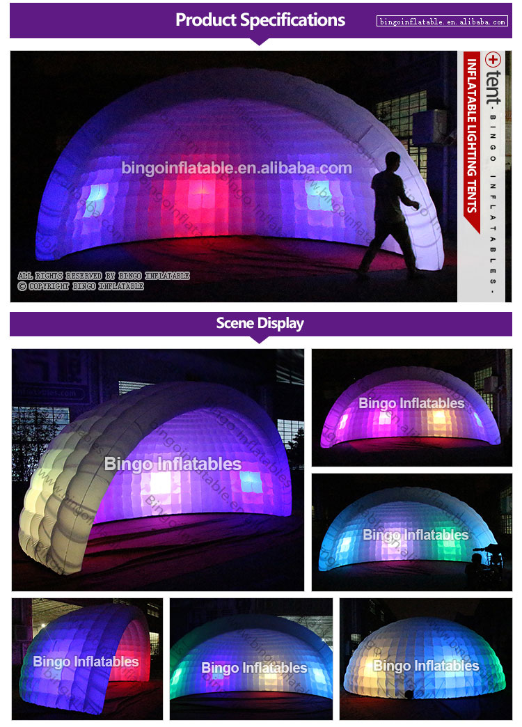 Inflatable Lighting tents-bingoinflatables
