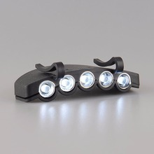 5LED Headlight HeadLamp Flash Flashlight Cap Hat Torch Head Light Bulb Lamp Outdoor Fishing Camping Clip-On Super Bright - Sports Life Kingdom store