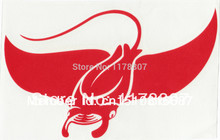 Manta Ray Red Sticker For Car Rear Windshield Truck SUV Bumper Auto Door Laptop  Wall Die Cut Vinyl Decal 8 Colors