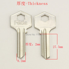 A127 Wholesale Locksmith Keymaster Brass House Home Door Blank Empty Key Blanks Keys