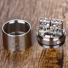 Original CIGPET ECO RTA Deck Compatible with SMOK TFV12/CIGPET ECO12 Tank Build Deck Huge Vapor Vaping RDA
