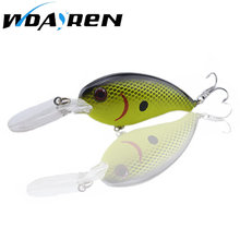 1PCS 14g 10cm Crankbait Fishing Lure Wobblers Japan Artificial Hard bait Bass Spinner Pesca 7 Colors Fishing tackle FA-198(China)