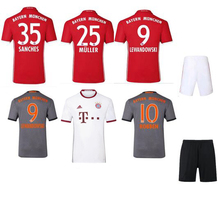 grwfv Camiseta de futbol 16 17 men soccer Jersey bayErned muNiched shirt free shipping gr