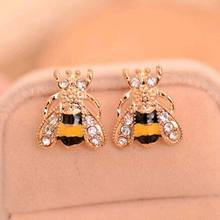 Tomtosh 2016 New Fashion Hot Selling Pendientes Jewelry Rhinestone Flowers Star Heart  Earrings For Women