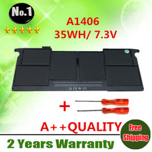 "Wholesale New  laptop battery For APPLE  MacBook Air 11"" A1465 2012 Version  A1370 2011 YEAR  Replace  A1406   free shipping"