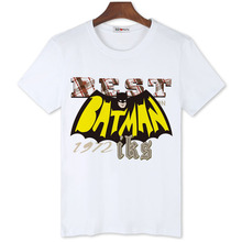 BGtomato super hero batman t shirt men 100% Original brand good quality shirts Three colors Short sleeve o-neck shirts