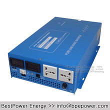LED Display 2000W Full Power 4000W Peak Power Supply Off Grid DC TO AC Converter Solar Inverter Pure Sine Wave Inverter