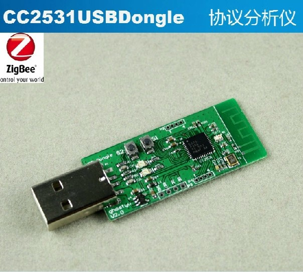 Freeshipping Zigbee CC2531 USB dongle development board HIgh qiality<br>