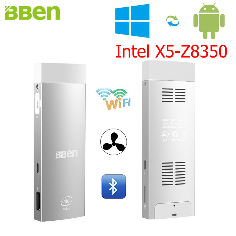 BBen Mini PC Intel Z8350 Windows 10 &amp; Android 5.1 RAM 2G ROM 32G HDMI Stick Windows Mini PC Pocket Computer WiFi BT4.0 USB3.0 <br><br>Aliexpress