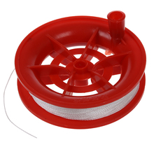 100M Twisted String Line Red Wheel Kite Reel Winder(China)
