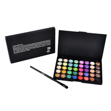 40 Colors Matte Eyeshadow Palette Naked Palette Cosmetic Makeup Eye Shadow with Brush Long Lasting Beauty Maquiagem Hot Sale