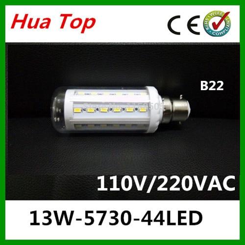 3pcs/lot  Lampada B22 13W 220v LED Corn Light 5730 epaistar SMD 44 Chip led Lamps Bulb Spot indoor lighting lamps and lanterns<br><br>Aliexpress