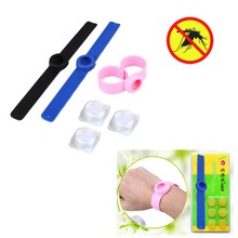 2Pcs Summer Anti Mosquito Repellent Wrist Band Bracelet Insect Killer Nets Bug Lock Outdoor Camping Hiking