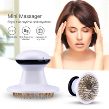 CkeyiN Infrared Electric Head Massager Vibrating Scalp Massage Neck Massage Pressure Points Relax Head Relieve Stress Device
