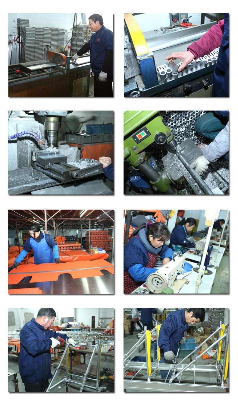 stretcher production workshop