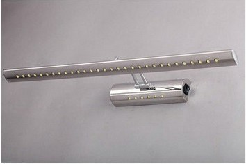 40cm 5W LED Stainless Steel Mirror Wall Toilet Light Bathroom Lamp Cabinet AC 85V~265v bj32k<br><br>Aliexpress