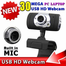 HD Web Cam Camera WebCam With MIC Microphone For Computer PC Laptop , USB Interface Cable , 8 Megapixel