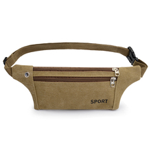 2017 New Unisex Bum Bag Waterproof Oxford Fanny Pack Light Weight Waist Belt Bags Super light ultrathin close-fitting pocket(China)