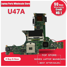 Motherboard for ASUS U47A laptop motherboard, U47A mainboard(China)