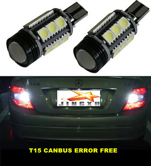 For Mercedes Benz E-Class 2002-Present S-Class 2006-Present Canbus  Error Free T15 W16W  Car LED Lights Backup Reverse Tail Bulb<br><br>Aliexpress