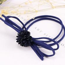 High Quality Fashion Women's Hair Bows Elastic Hair Bands For Women Cute Designers Pony Tail Holders Head Rope Hair Acceessories
