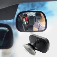Car Child Mirror For Child Seat Safety Auto Headrest Baby Rearview Mirror Car Styling Universal Interior Mirror Black